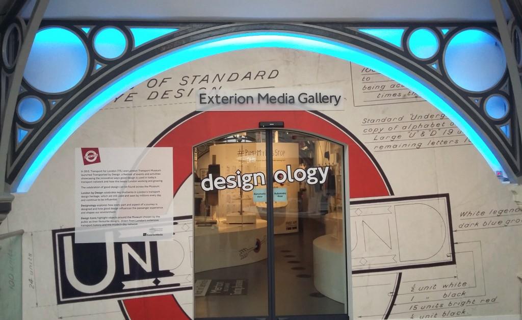 The London Transport Museum's Designology Exhibition   © Christopher M Little