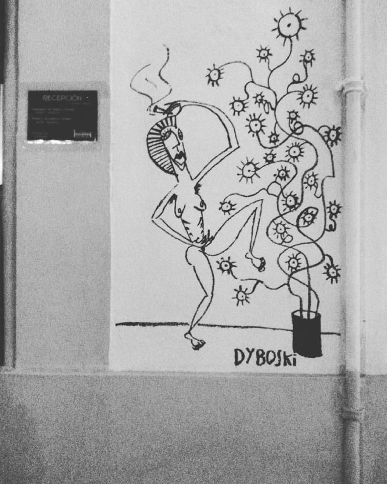 Street painting© Courtesy of Claudia Dyboski
