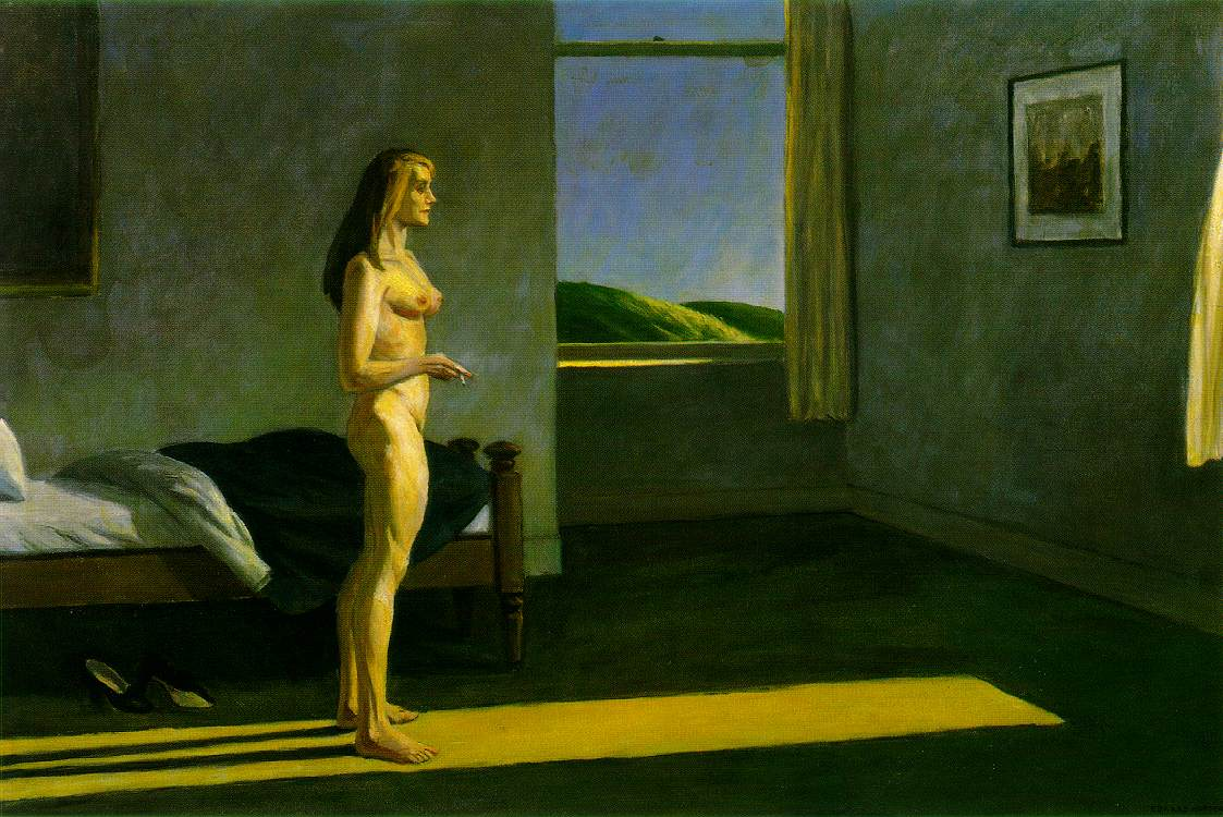 Edward Hopper - A Woman in the Sun (1961) | © WikiCommons