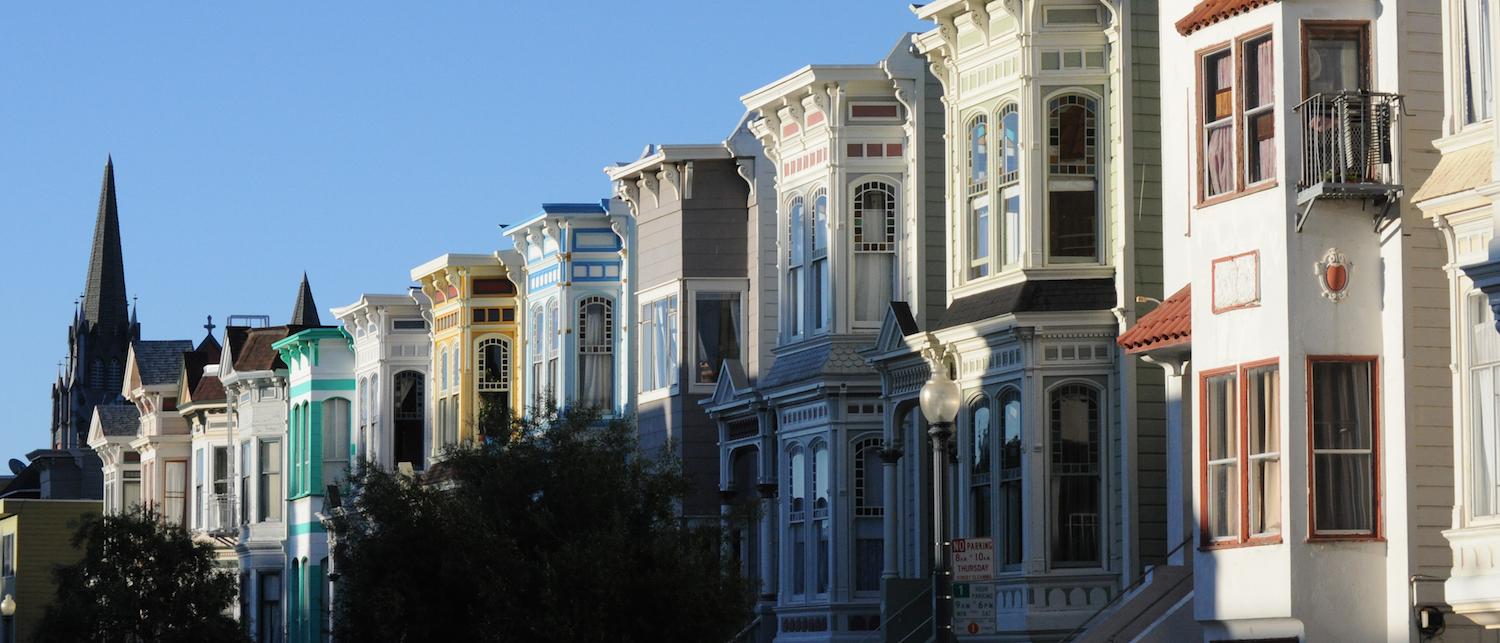 Edwardian Houses in Mission District | © Paxson Woelber/Wikimedia Commons