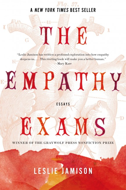 Leslie Jamison's The Empathy Exams (2014) | Courtesy of Graywolf Press