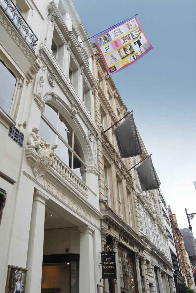 The New Bond Street building | Courtesy of Fine Art Society
