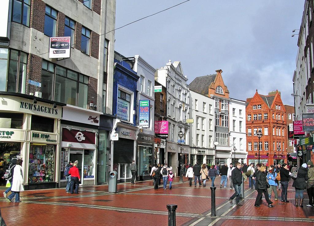 Grafton Street, Dublin, Ireland | © Donaldytong / WikiCommons