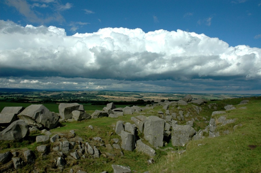 Hadrian's Wall Stones In The Northumberland National Park | © Northern Point/Flickr
