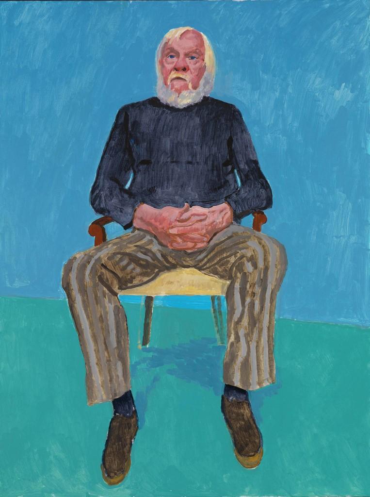 John Baldessari by David Hockney | © Richard Schmidt