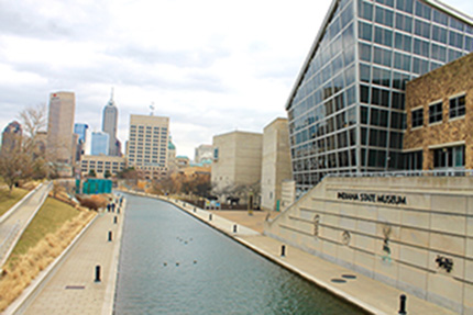The Canal, Downtown Indianapolis | Courtesy of Carley Lanich