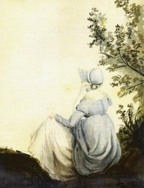 Jane Austen Watercolour Portrait |© Cassandra Austen / wikicommons