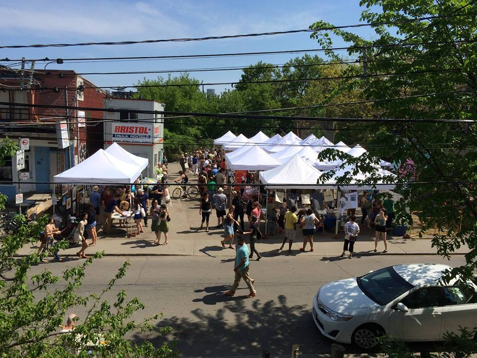 Kensington Market Art Fair | Courtesy of Keep 6 Toronto / Kensington Market Art Fair