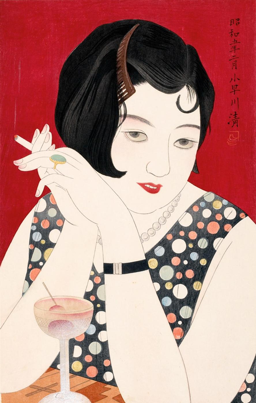 Kobayakawa Kiyoshi, Tipsy, 1930   © Honolulu Museum of Art/WikiCommons