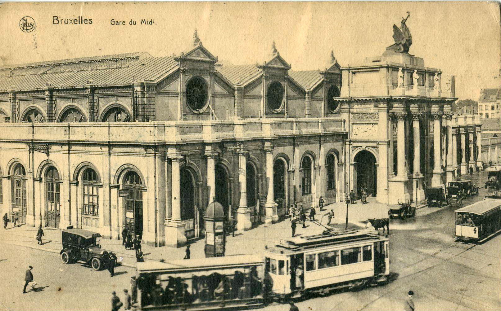 Brussels South Station © Claude_villetaneuse/Wikicommons