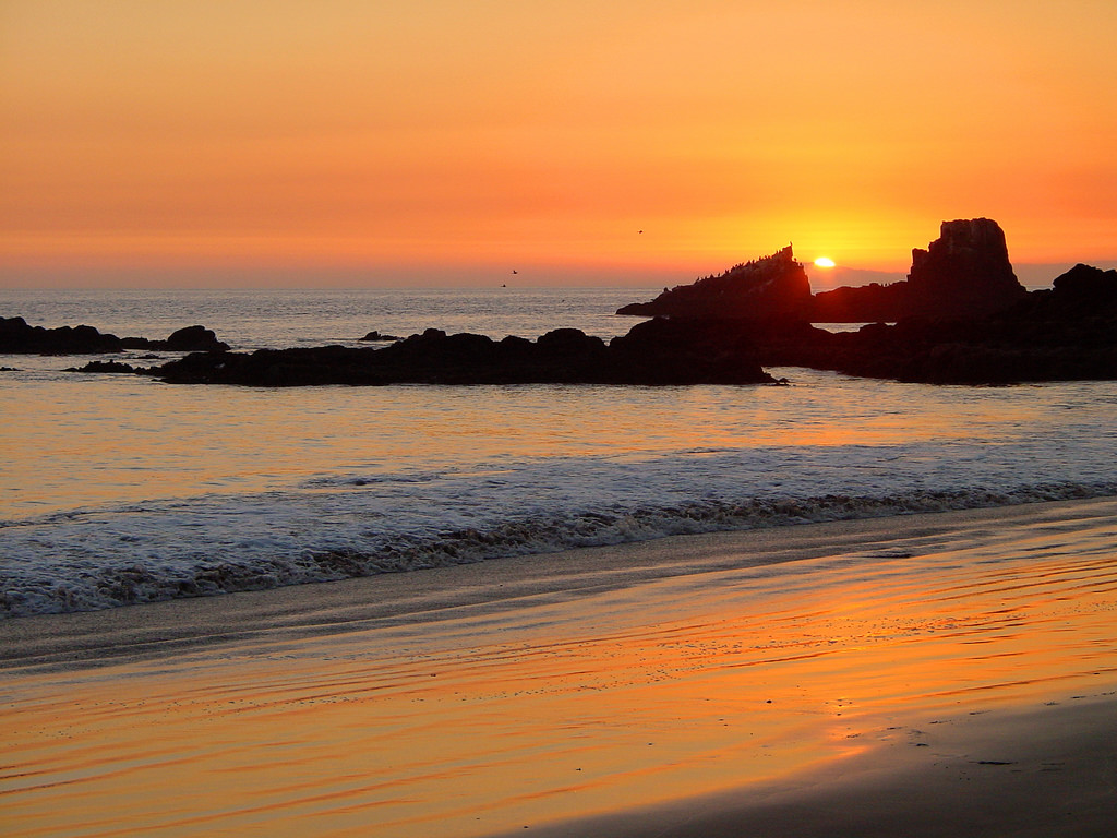Newport Beach sunset | © Bert Kaufmann/Flickr
