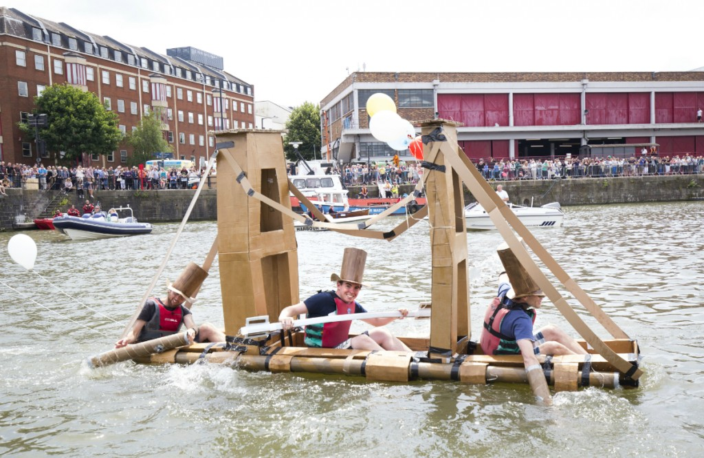 Boat competition | Courtesy of Bristol Harbour Festival