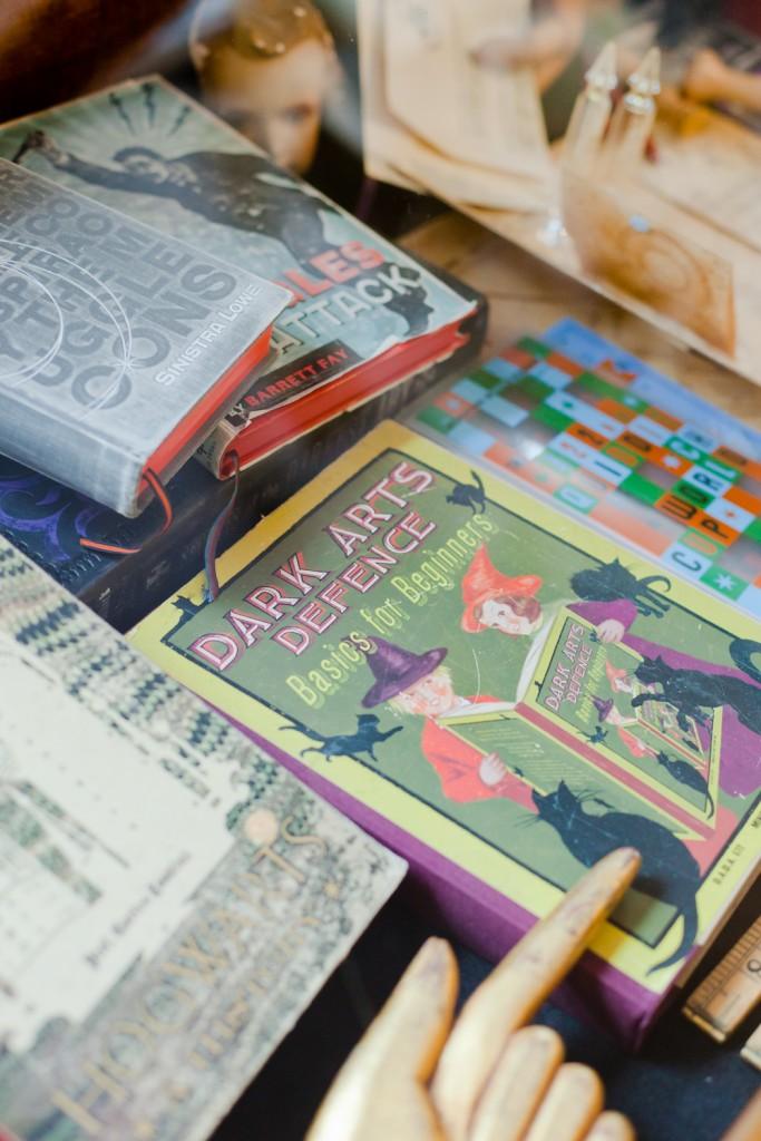 Harry Potter Text Books  © MinaLima