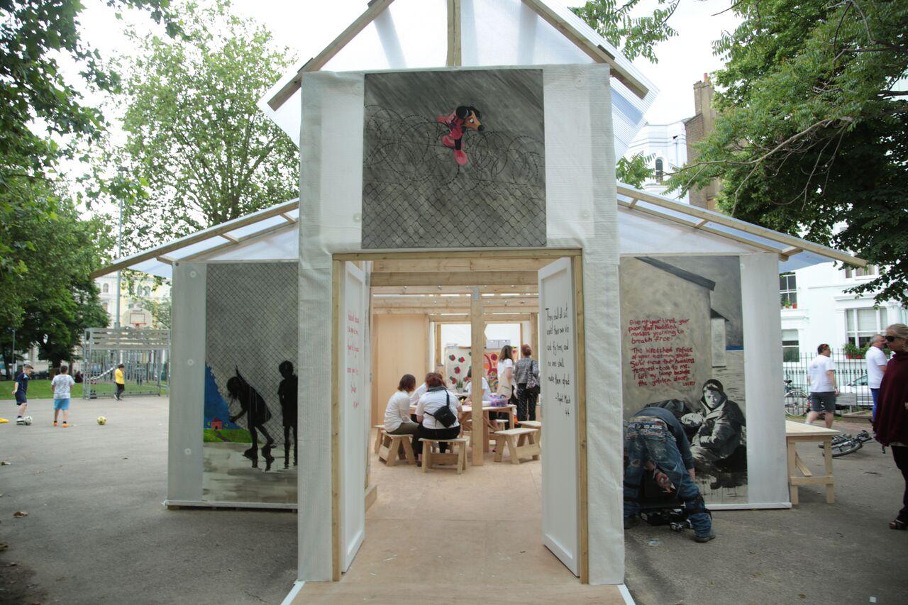 The Portobello Pavilion   Courtesy of InTRANSIT Festival