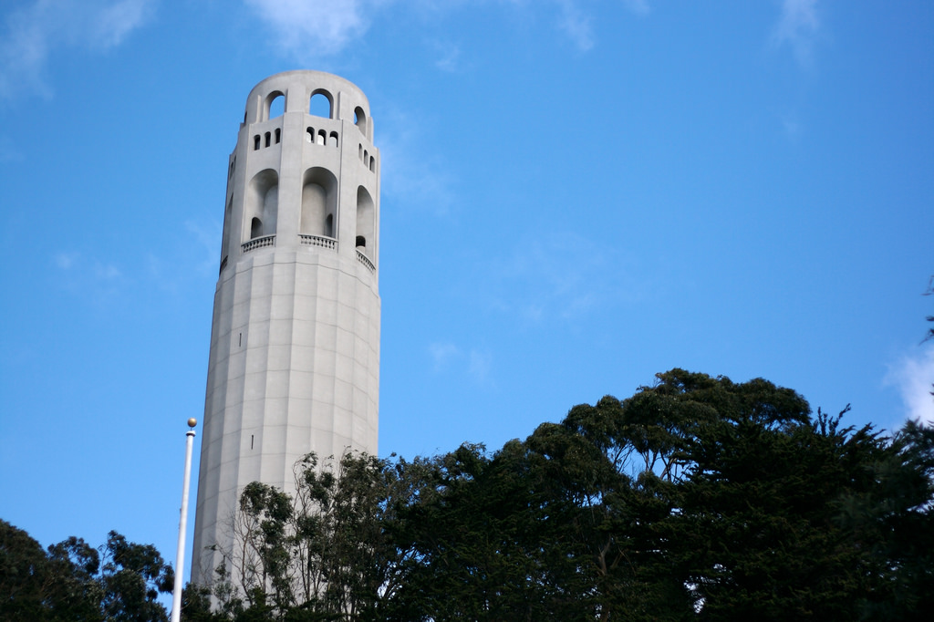 10 outdoor activities you can only experience in sf for Coit tower mural