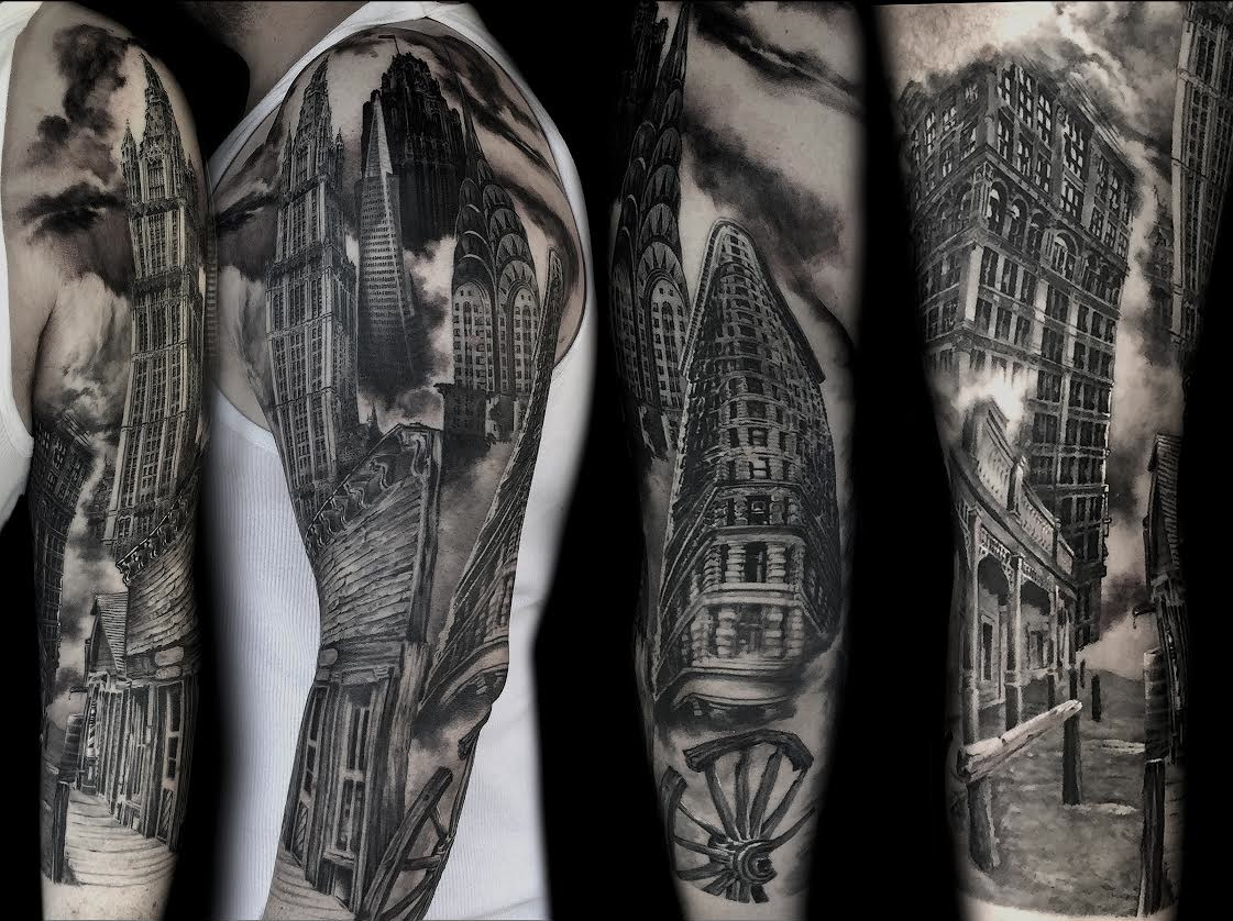 The 10 best tattoo artists in los angeles for Best realism tattoo artist