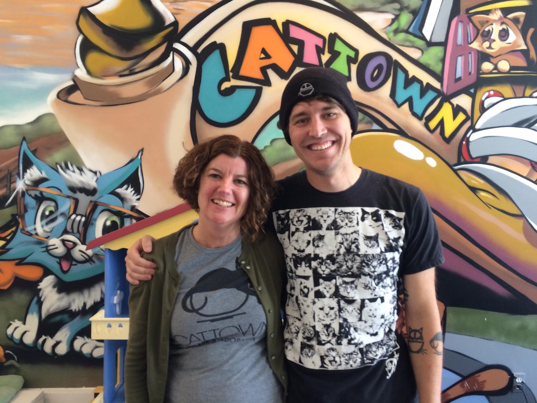 Founders Ann Dunn and Adam Myatt | Courtesy of Allen Mark Aranas