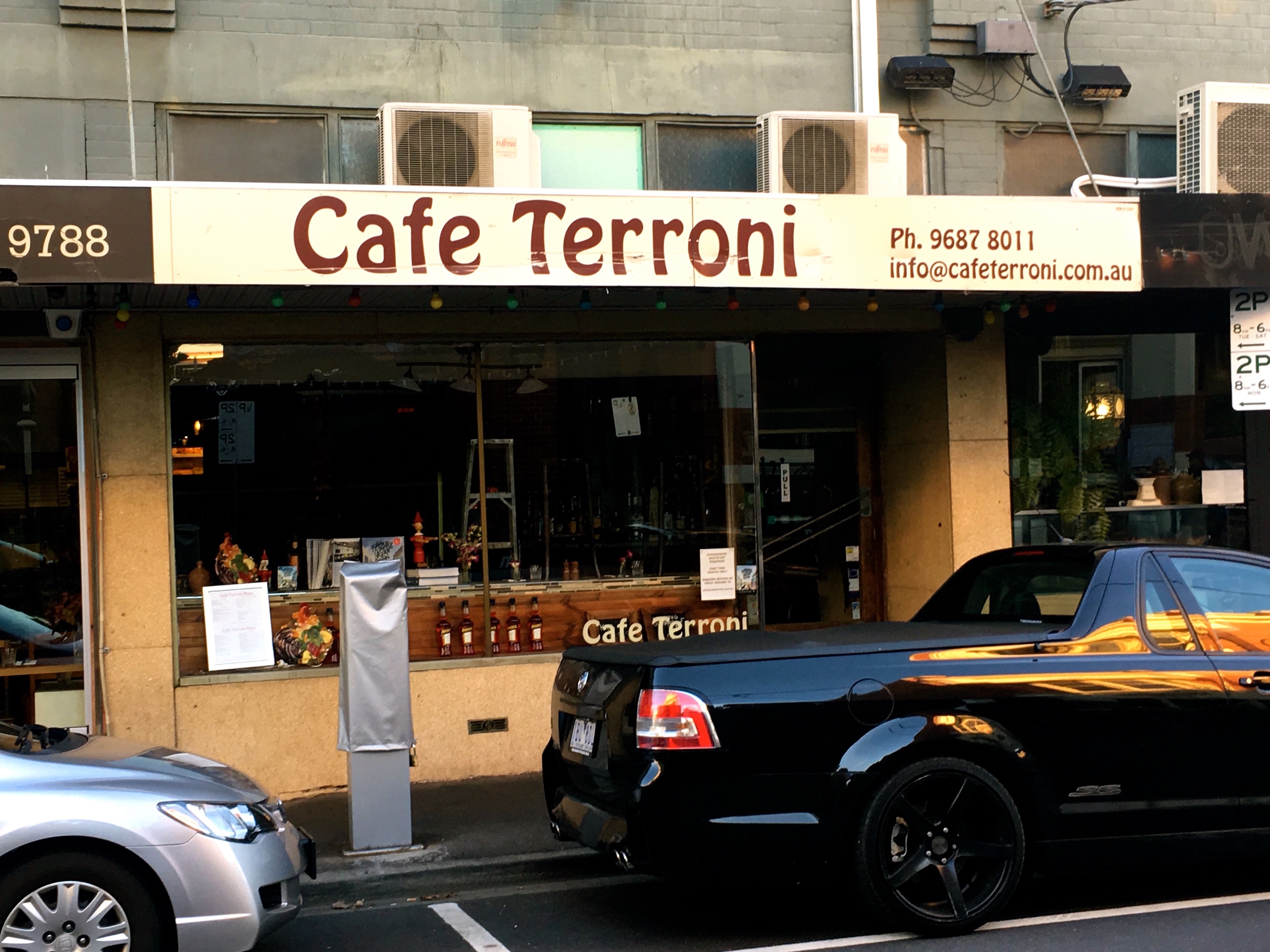 Cafe Terroni | (c) Stephen Barrett