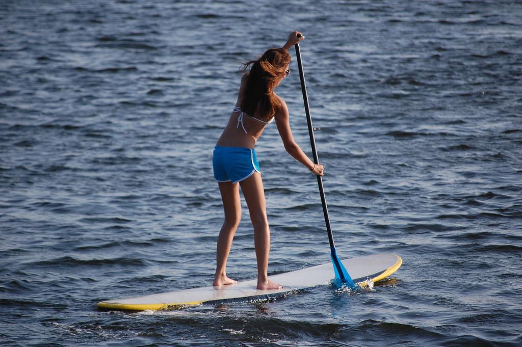 Paddle Boarding   © RamaRaju Penumatsa/Flickr