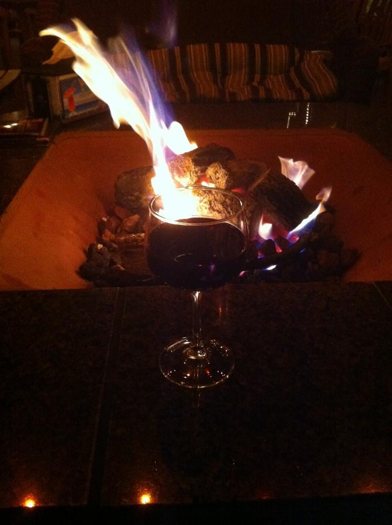 Fire and wine at Miramar Beach Restaurant © Anita Hart/Flickr
