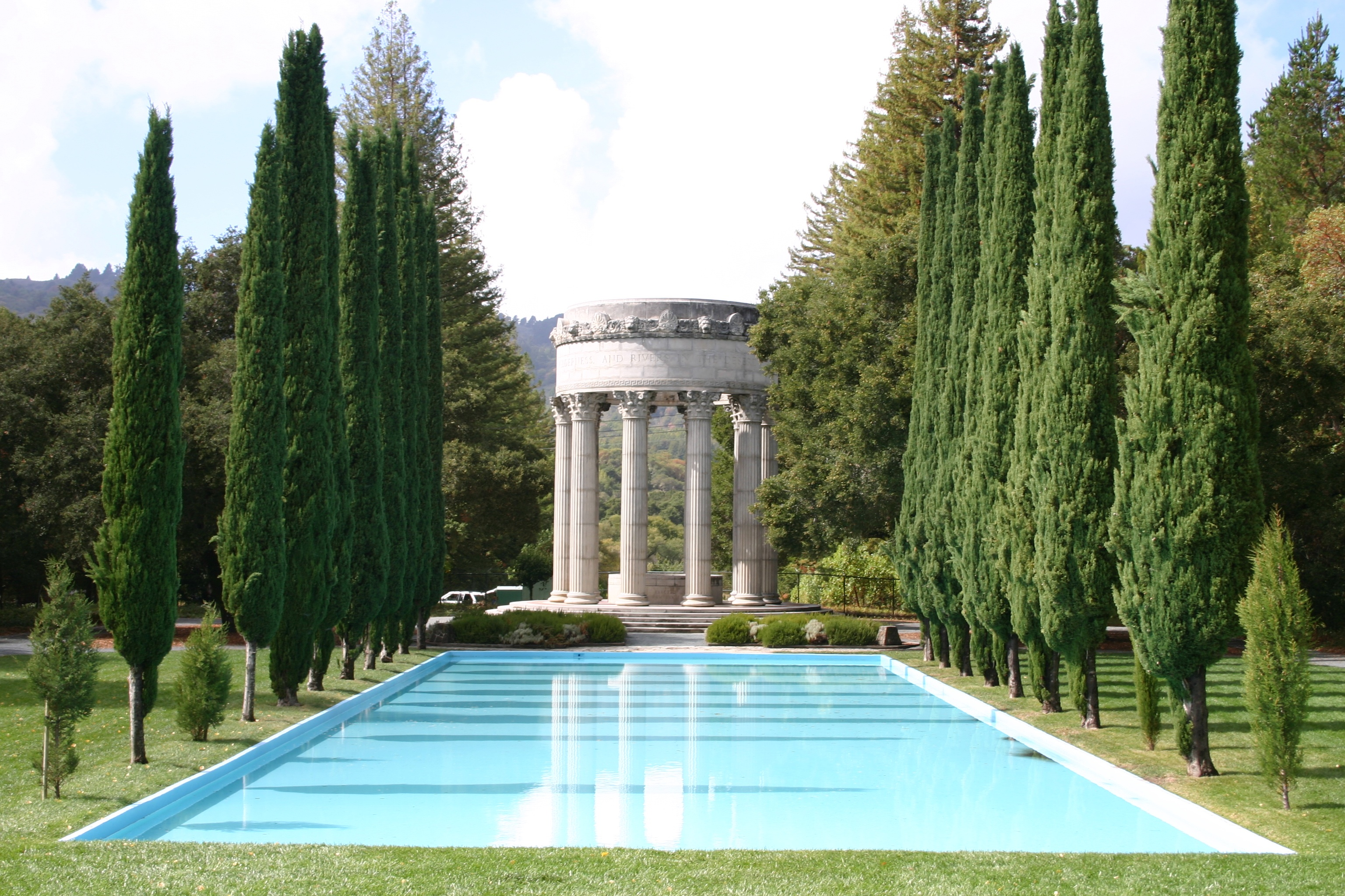 Pulgas Water Temple | © Leslieakf/WikiCommons