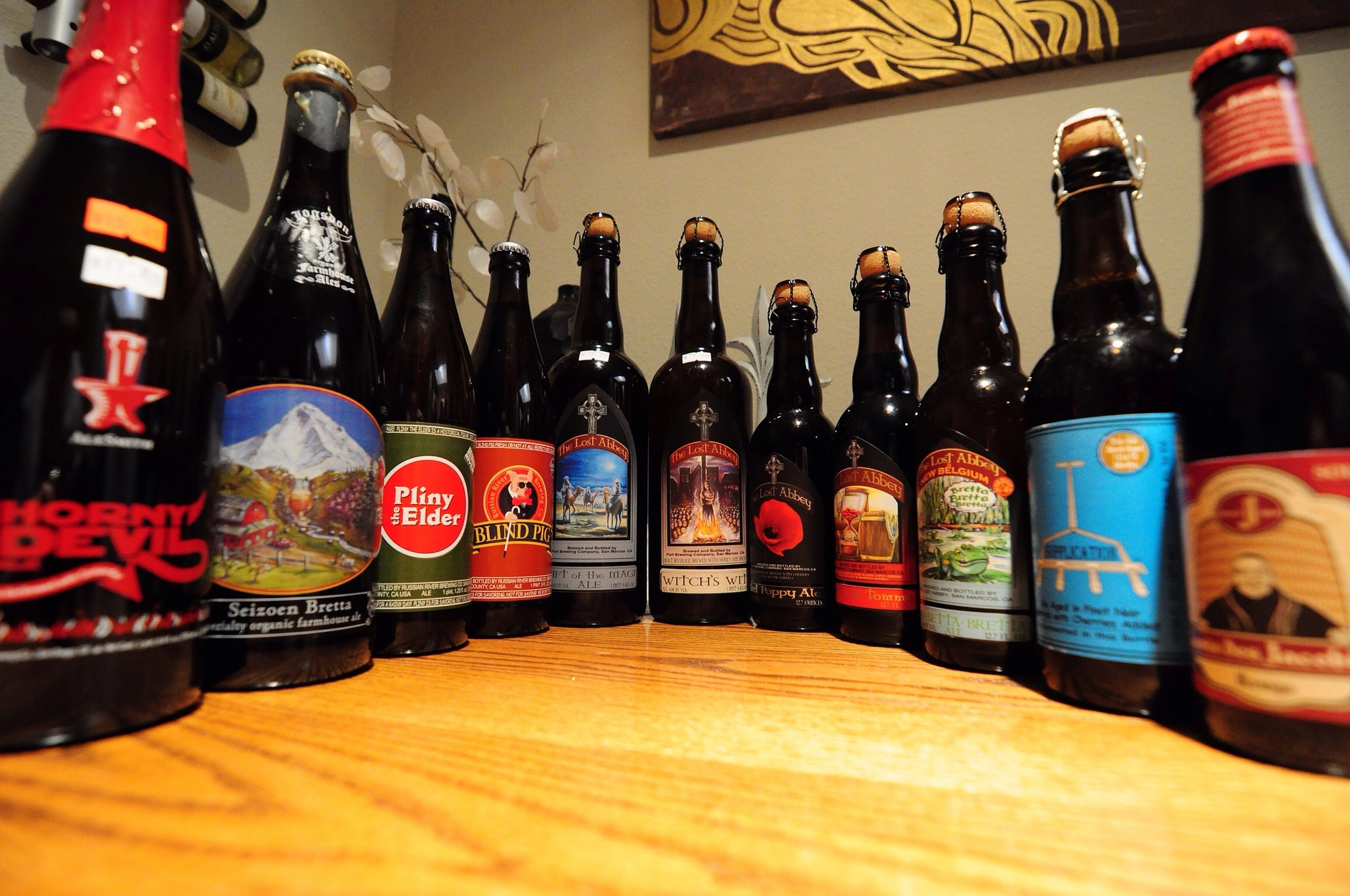Array of California Beers | © Adam Barhan/Flickr