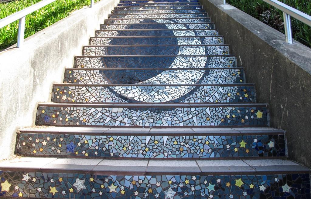 16th Avenue Tiled Steps © Ed Bierman/Flickr