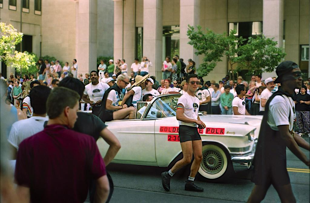 The 1991 International Lesbian and Gay Freedom Day Parade © David Prasad/Flickr