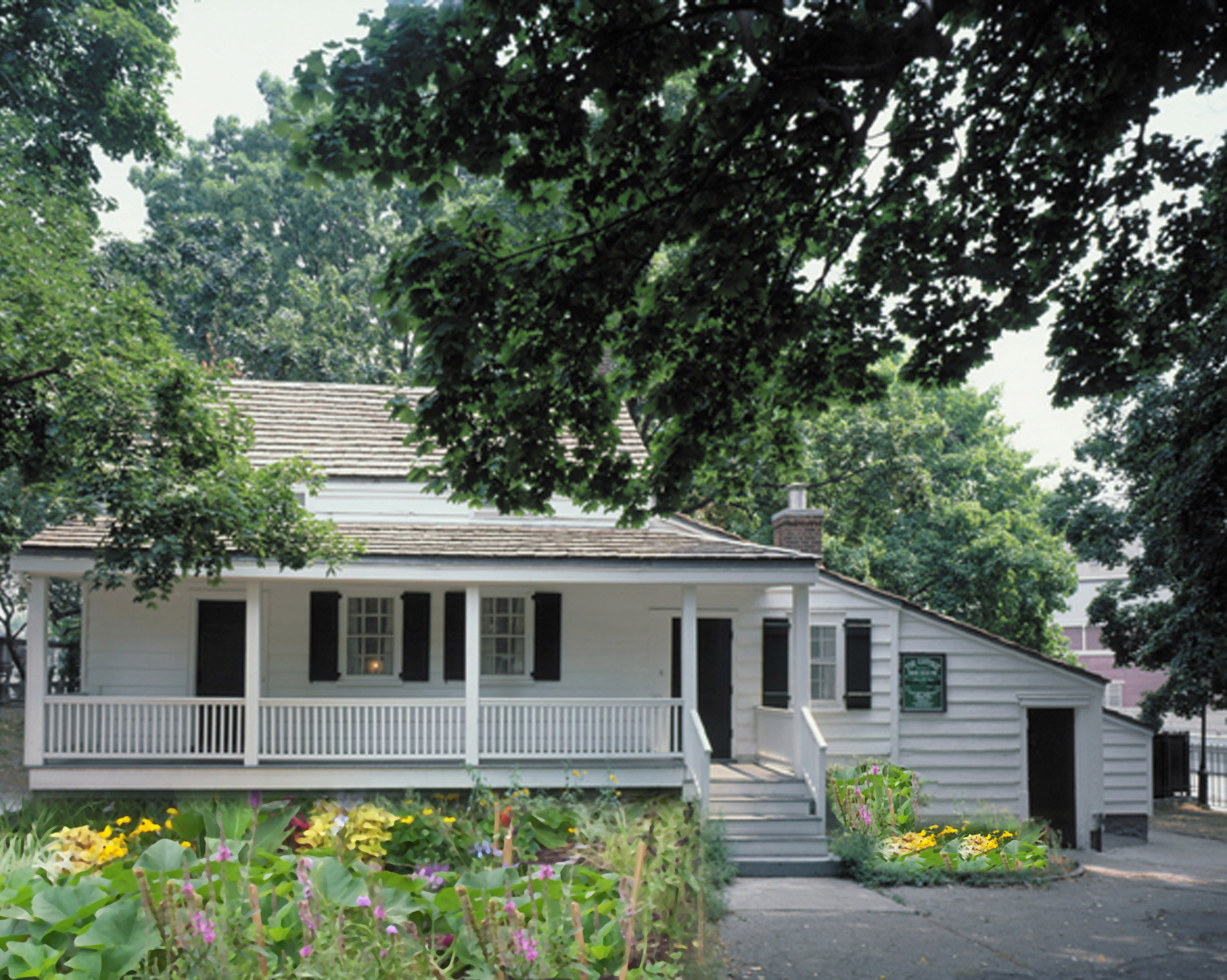 Edgar Allan Poe Cottage | Courtesy of The Bronx County Historical Society