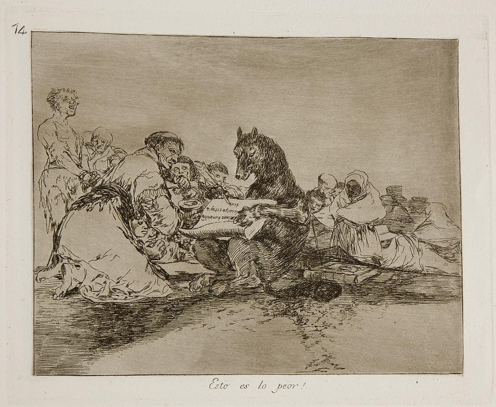 Los desastres de la guerra by Francisco de Goya | © Public Domain/Wikicommons