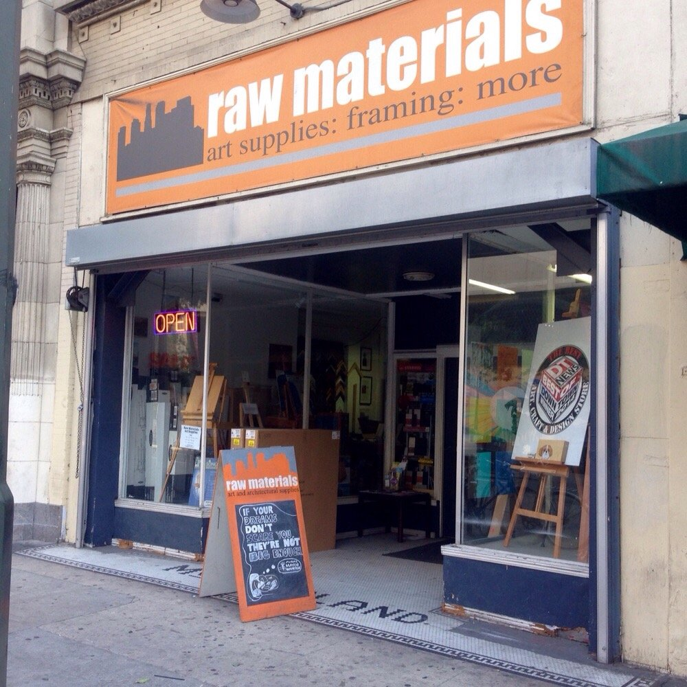 Raw Materials Exterior Courtesy of Raw Materials