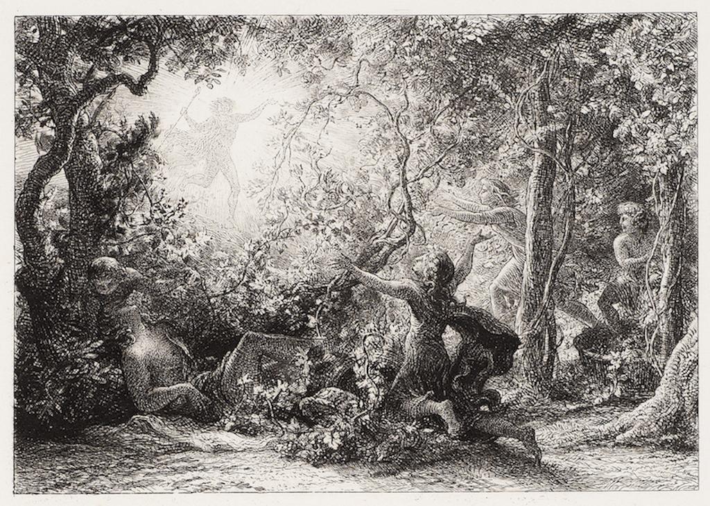 Samuel Palmer, The Vine, 1852| Courtesy of The Fine Art Society