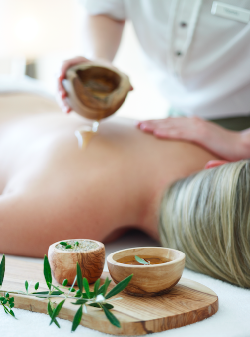 Olive oil and honey are used in many of the spa's treatments © Costa Navarino