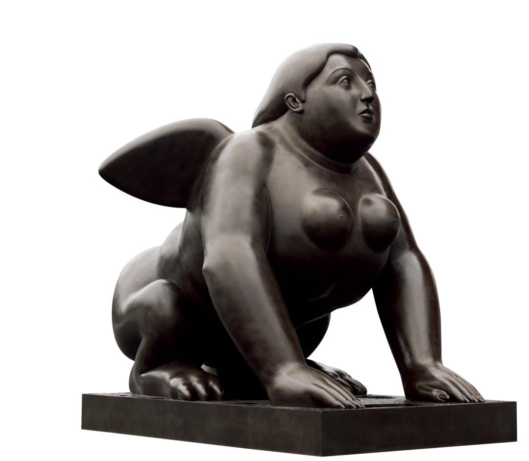 Sphinx (1995), bronze   Courtesy of Park View Art Hong Kong