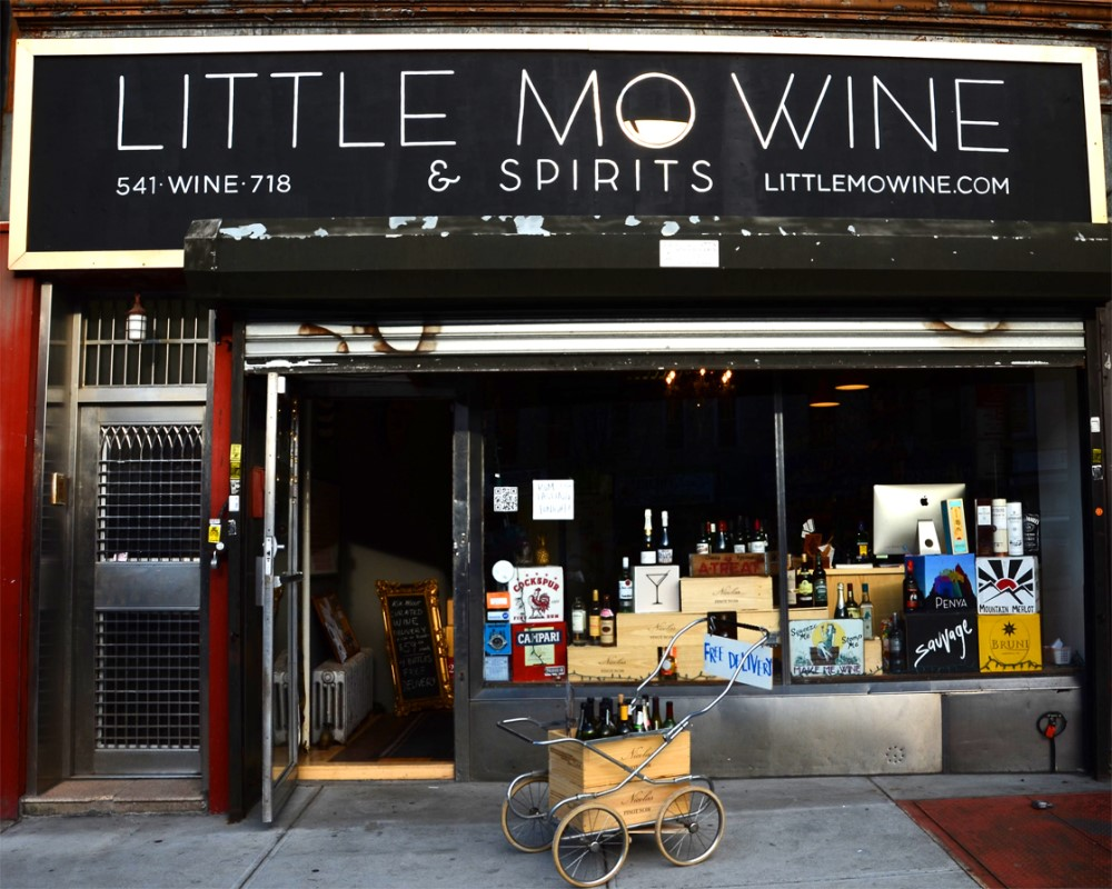 Store Front | Image Courtesy of Little Mo Wine and Spirits