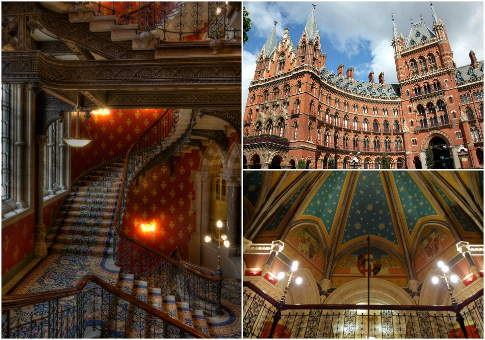 St Pancras Renaissance Hotel | © nosha / Flickr // © LepoRello / Wiki Commons // © Matt Kieffer / Flickr
