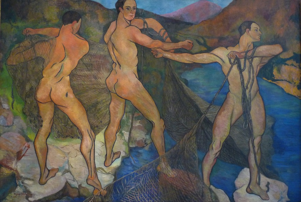 Suzanne Valadon, Casting of the Net (1914) © WikiCommons