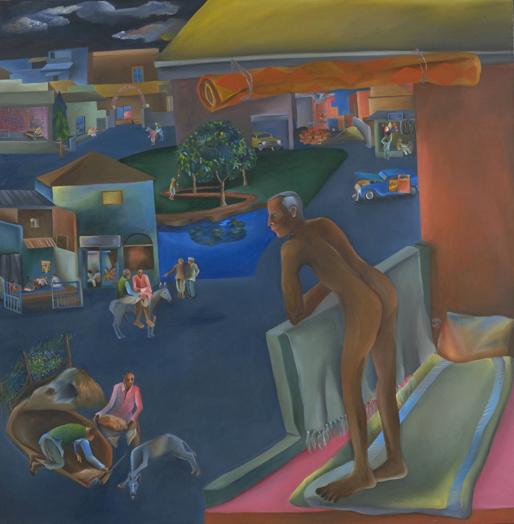 You Can't Please All (1981) by Bhupen Khakhar. Illustration: Estate of Bhupen Khakhar