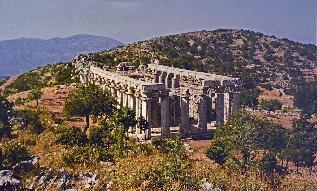 Temple of Apollo Epikourios at Bassae   © Carole Raddato/WikiCommons