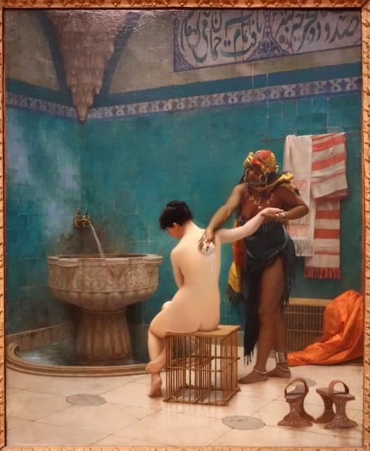 Jean-Léon Jérôme, The Bath, 1880-85 | © Legion of Honor/WikiCommons