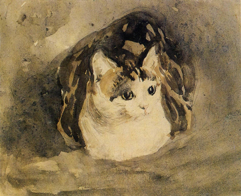 Gwen John, The Cat (1904) © WikiCommons