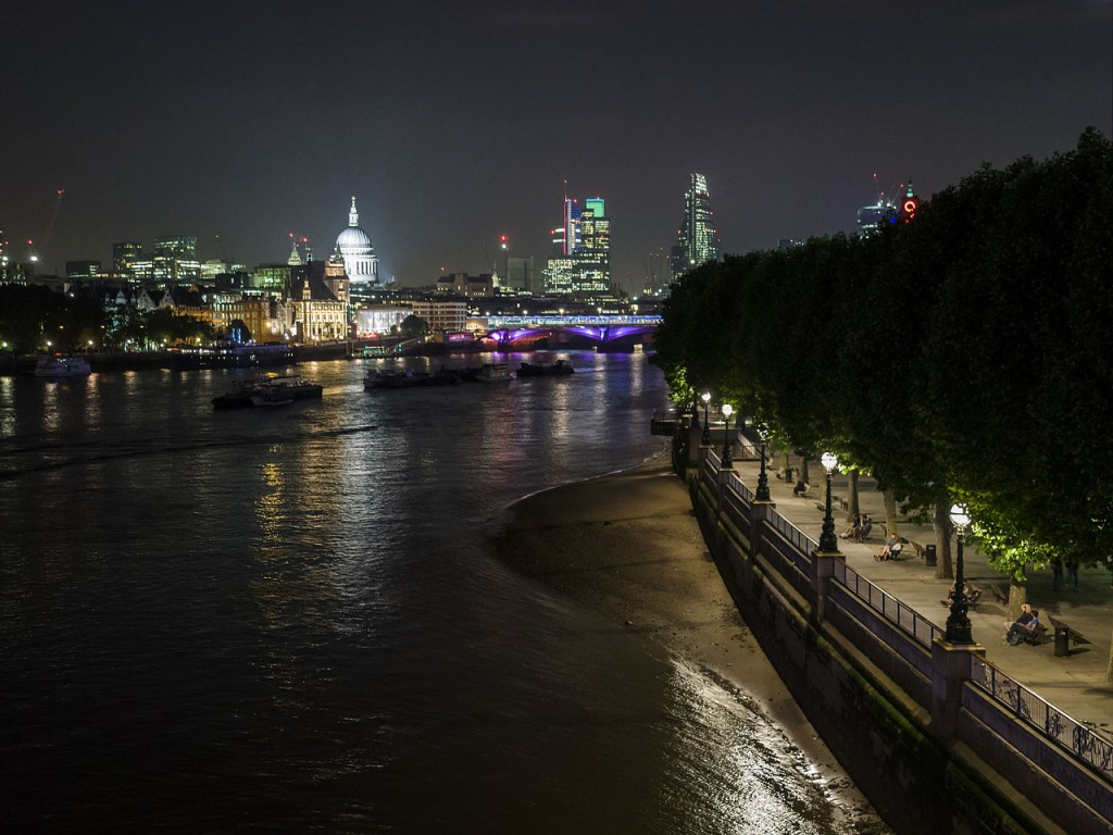 The South Bank by night | © James Petts / WikiCommons