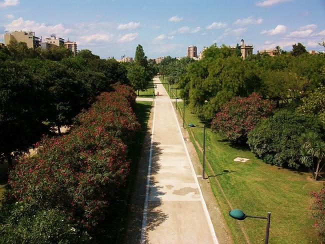 The history of the valencian jardin del turia in 1 minute - Jardin del turia valencia ...