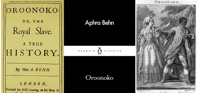 compare and contrast aphra bhen s oroonoko royal slave and Free essay: write an essay of 1,500 words in which you compare and contrast the two passages below, taken from behn's '_oroonoko_' or the royal slave and.