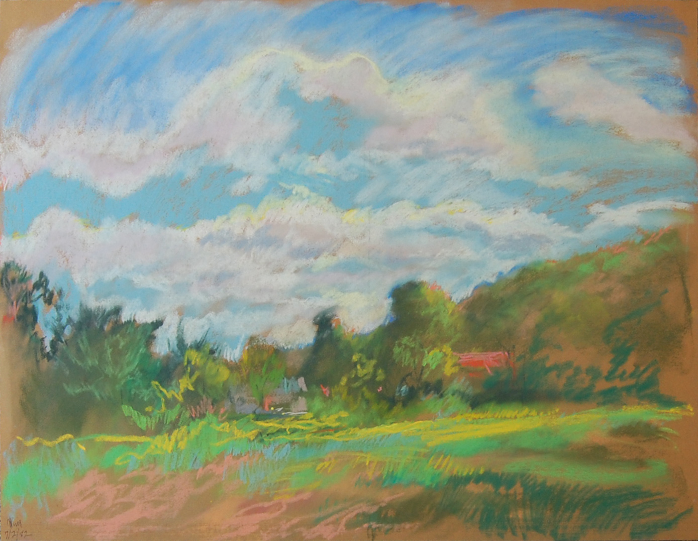 'Untitled Meadow 1' by Ron Wing | Courtesy of The Slater Museum