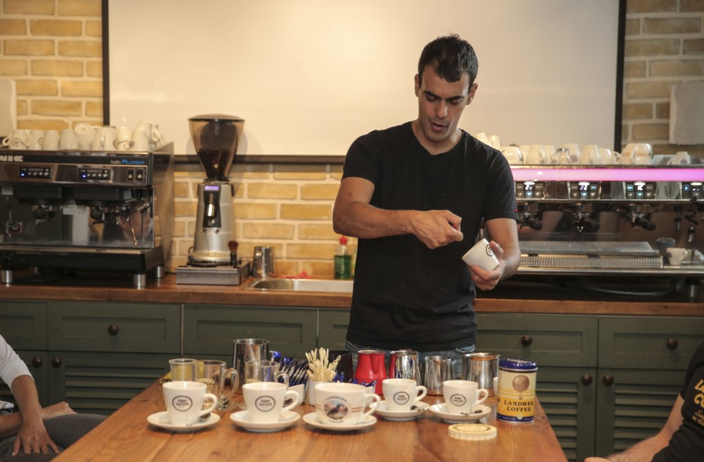 Uri Katan, Cafe Katan, Courtesy of Uri Katan