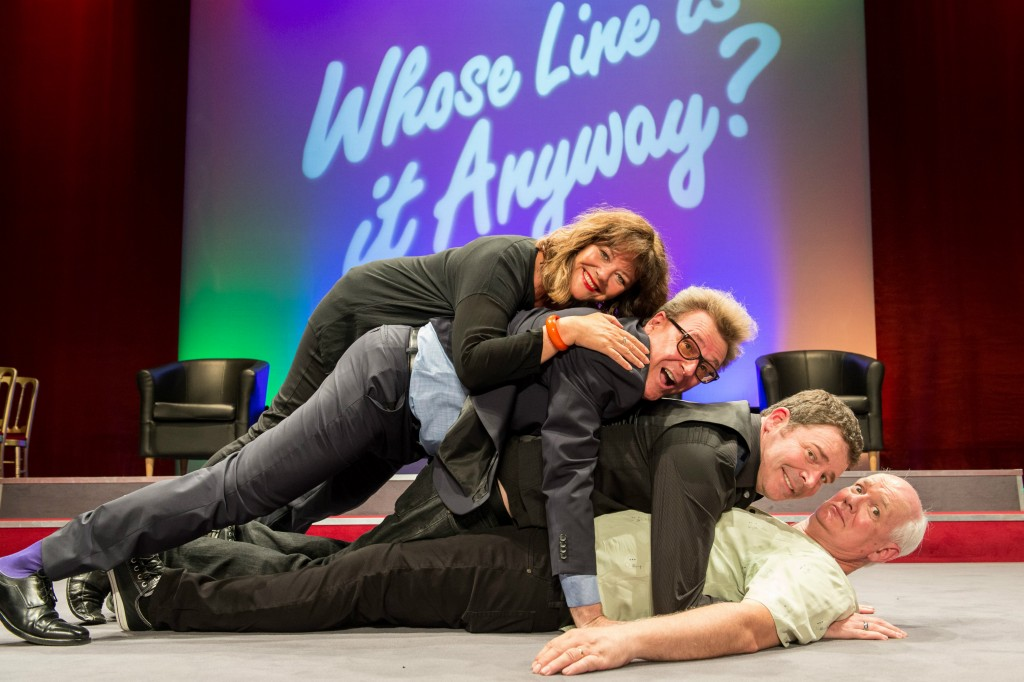 The cast of Whose Line Is It Anyway | Courtesy of KPPR