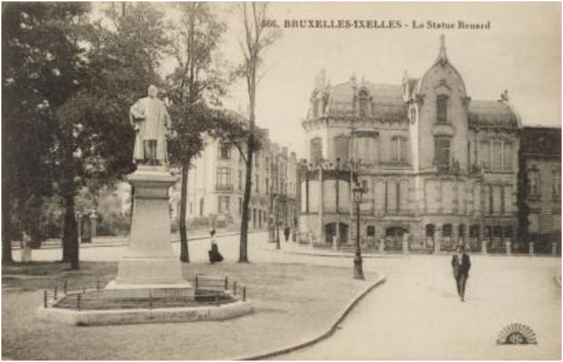 House of the architect Ernest Blerot (built in 1901-08, demolished in the early sixties) © Anonymous/Wikicommons