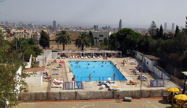 Top 6 outdoor pools in barcelona for Piscinas gratis barcelona