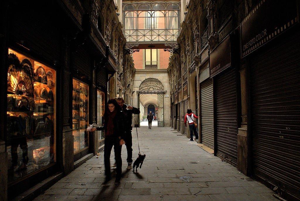 The Gothic Quarter in Barcelona   © Mstyslav Chernov / Flickr